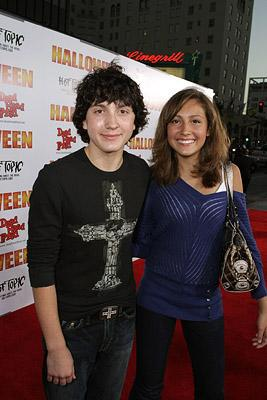 Daryl Sabara and Taylor Dooley at the Hollywood premiere of MGM/Dimension Films' Halloween
