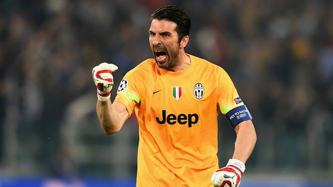 Buffon's amazing run of clean sheets