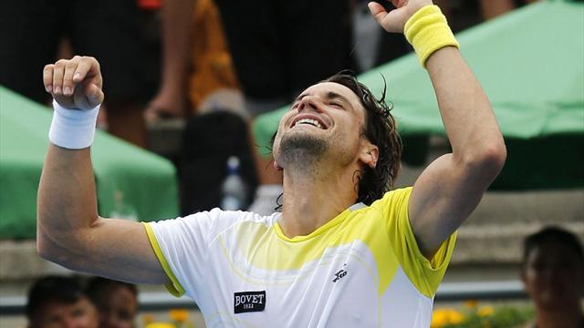 Tennis - Record-breaker Ferrer wins fourth Auckland title