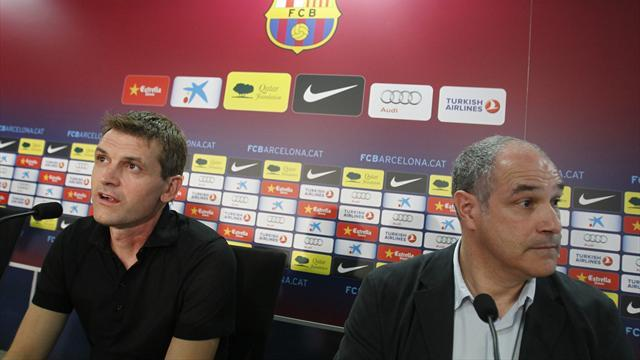 Liga - Zubizarreta: Barca confident over Tito return