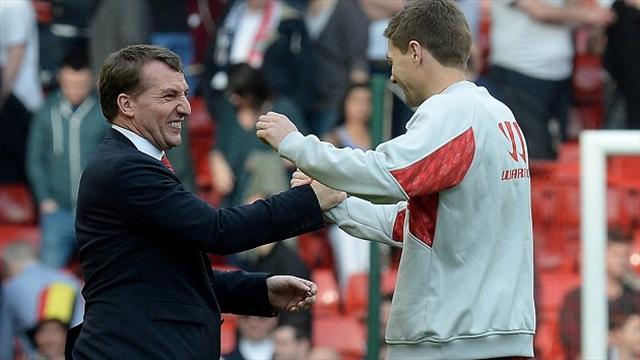 Premier League - Gerrard wants Rodgers at Liverpool for years to come