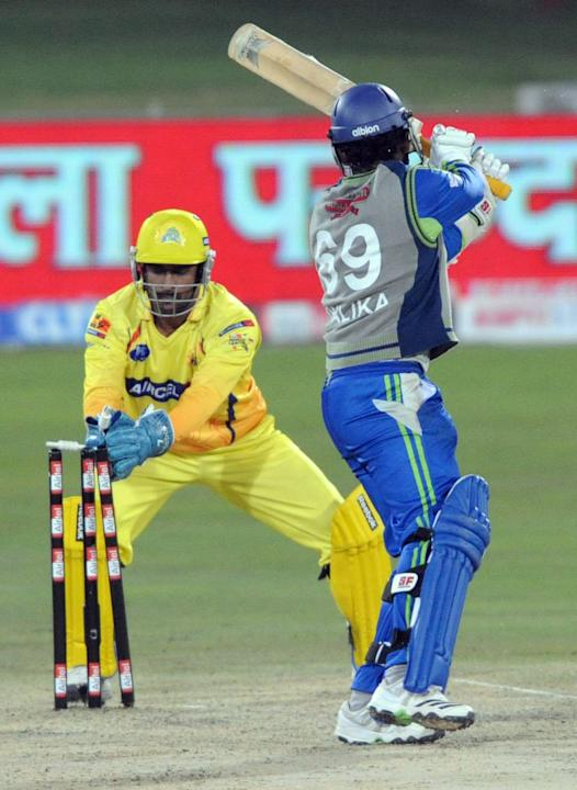Chennai Super Kings v Wayamba Elevens - 2010 Champions League Twenty20
