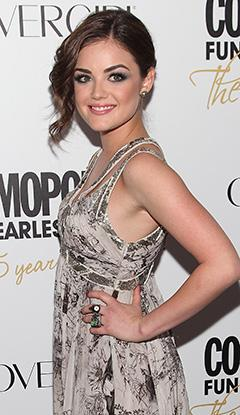 Pretty Little Liars Star Lucy Hale Signs a Record Deal!