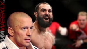 Georges St-Pierre Picks Johny Hendricks to Defeat Robbie Lawler at UFC 171