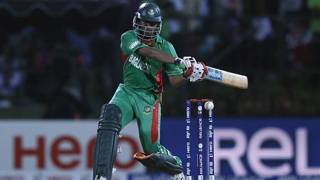Cricket - Bangladesh progress in World T20 despite loss to Hong Kong