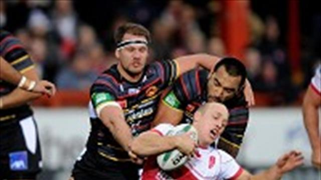 Rugby League - Sandercock hails first-half showing