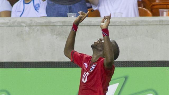 Concacaf Football - Trinidad beat Honduras to advance in Gold Cup