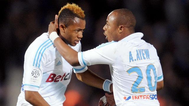 Ligue 1 - Ayew double in Marseille win keeps PSG waiting for title