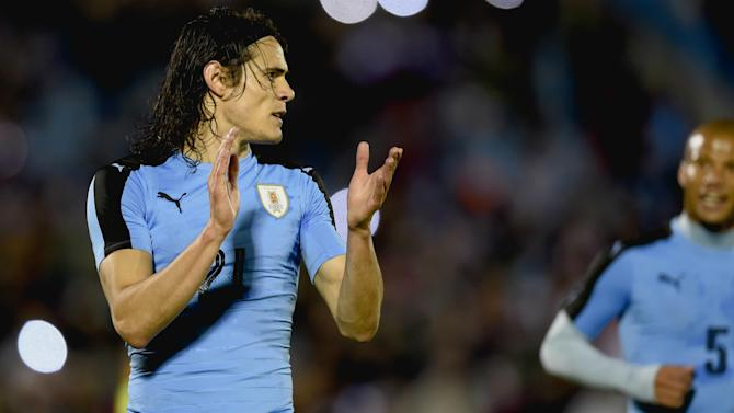Uruguay 3-1 Trinidad and Tobago: Cavani double inspires home side
