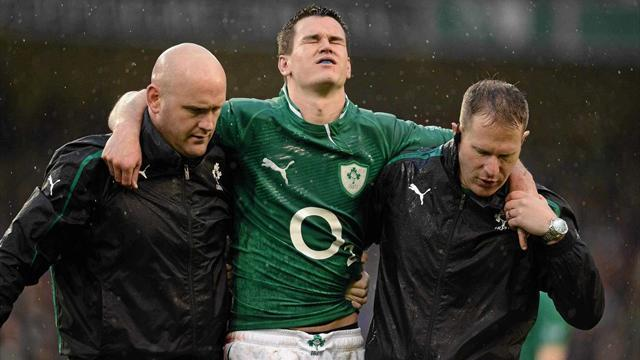 Six Nations - Sexton ruled out of France clash