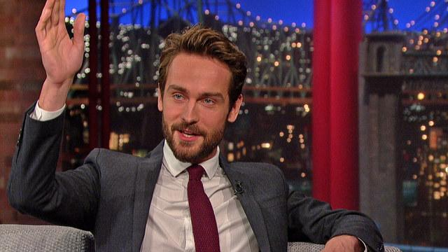 Tom Mison Discovers Southern Hospitality - David Letterman