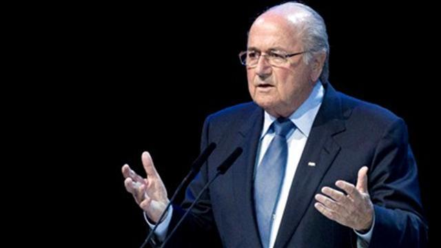World Football - Blatter shocked at Dutch linesman death