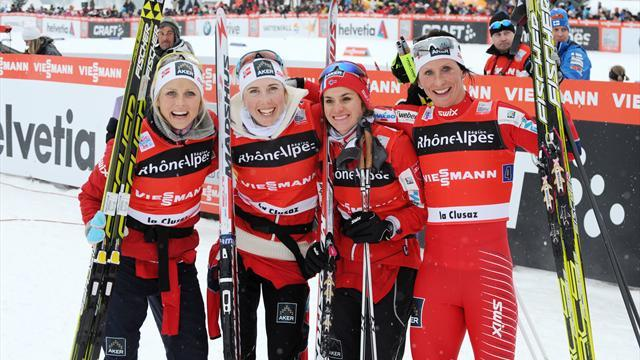 Cross-Country Skiing - Norway's women ensure clean sweep in La Clusaz