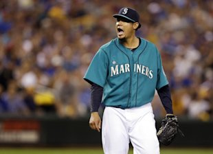 Hernandez and the Mariners hope the season leads to his first playoff appearance. (AP)