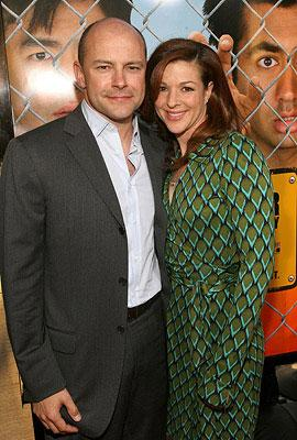 Rob Corddry and wife at the Los Angeles premiere of New Line Cinema's Harold and Kumar Escape from Guantanamo Bay
