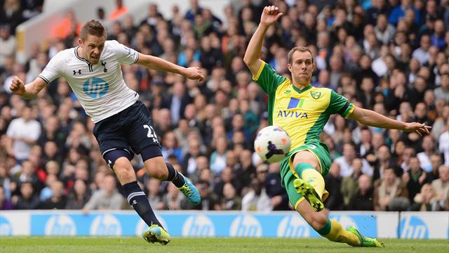 Premier League - Eriksen impresses, Sigurdsson nets double for Spurs