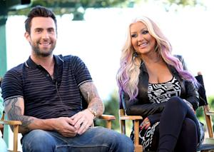 "Adam Levine Defends Christina Aguilera's Weight: ""It's No One's Business"""