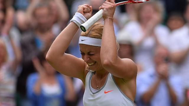 Tennis - Lisicki unfazed at being new Wimbledon favourite