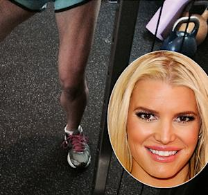 "Jessica Simpson ""Proud"" of Her Killer Legs During Workout: See the Incredible Picture"