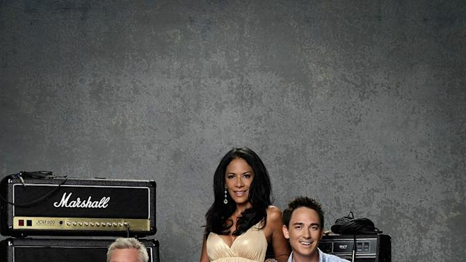"Australian TV personality Ian ""Dicko"" Dickson (""Australian Idol""), Singer/songwriter John Rzeznik (The Goo Goo Dolls), legendary percussionist and performer Shelia E. (""The Glamorous Life,"" ""A Love Bizarre"") and host Dominic Bowden (""New Zealand Idol"") in The Next Great American Band."