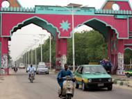 File photo shows the gate into to the northern Nigerian city of Maiduguri. Nigerian troops have killed 20 suspected Boko Haram Islamists in the restive northeastern city of Maiduguri, a senior officer said, an account quickly denied by the militant group