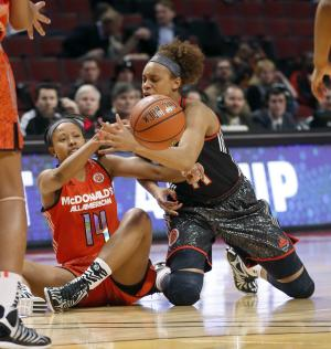 Brianna Turner leads West to 80-78 win over East