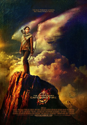 Katniss Everdeen Prepares to Battle With a Bow on New 'Catching Fire' Poster (Photo)