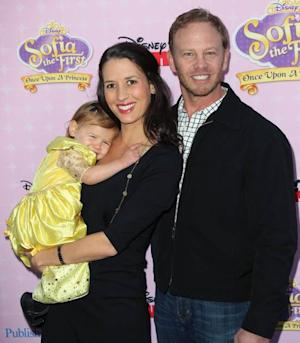 Ian Ziering and family attend the premiere of Disney Channels' 'Sofia The First: Once Upon a Princess' at Walt Disney Studios on November 10, 2012 in Burbank -- Getty Images