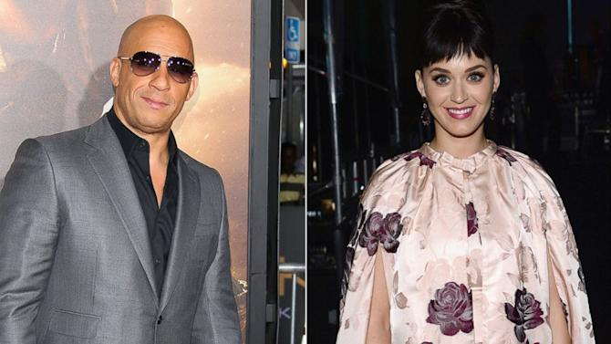 Vin Diesel Dances to Katy Perry's 'Dark Horse' — And She Responds