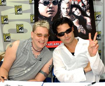 Corey Haim and Corey Feldman 2004 San Diego Comic-Con International - 7/24/2004