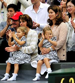 Roger Federer Wins Wimbledon: Meet His Adorable Twin Girls