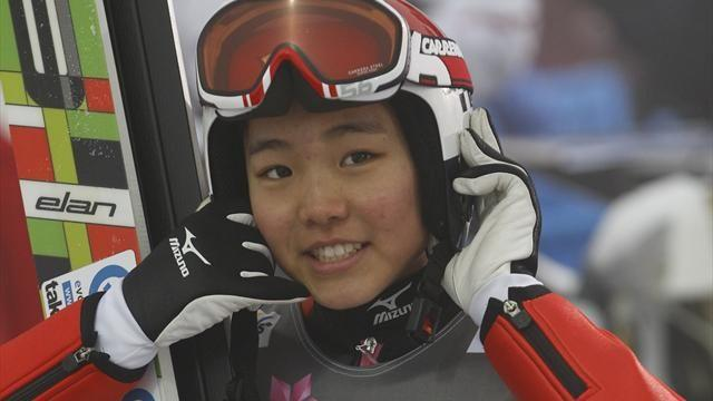 Ski Jumping - Takanashi leaps to victory to keep World Cup lead