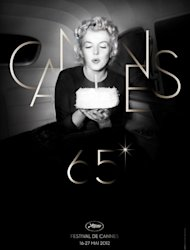 The poster of the 65th edition of the Cannes Film Festival