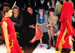 Katy Perry Jean-Charles de Castelbajac show, Autumn Winter 2011, Paris Fashion Week