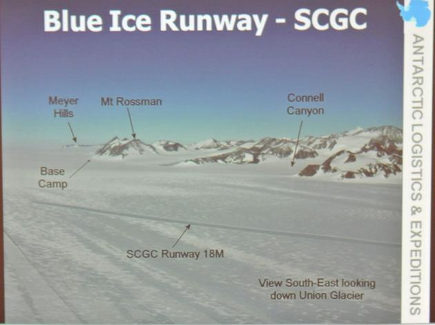 Blue Ice Runway