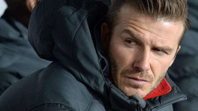 Champions League - No favours for benched Beckham at PSG