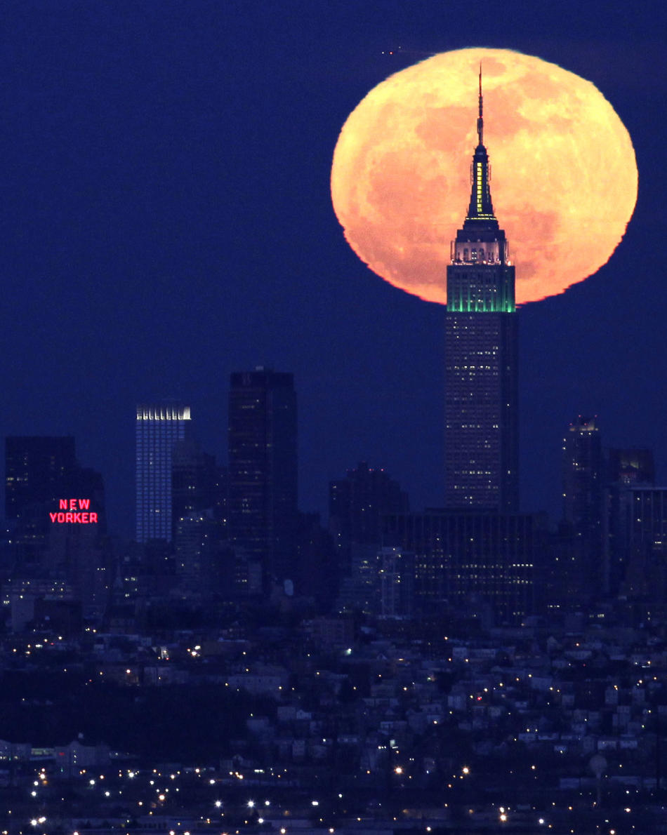 Luna llena en Nueva York