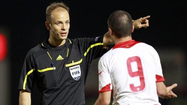 Football - Ref banned for display in Bulgarian game marred by racism