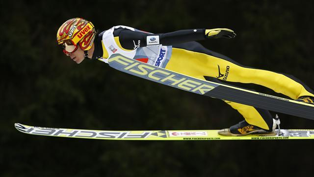 Ski Jumping - Kasai becomes oldest man to take a World Cup ski jump victory