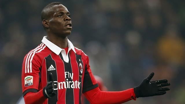 Serie A - Inter fined over racial abuse of Balotelli