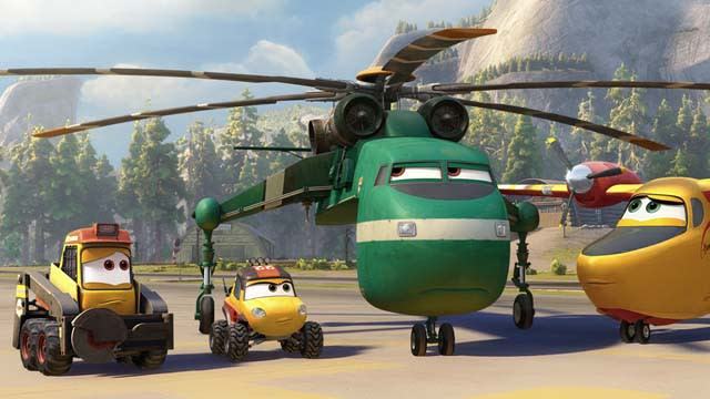 'Planes: Fire and Rescue' Teaser Trailer