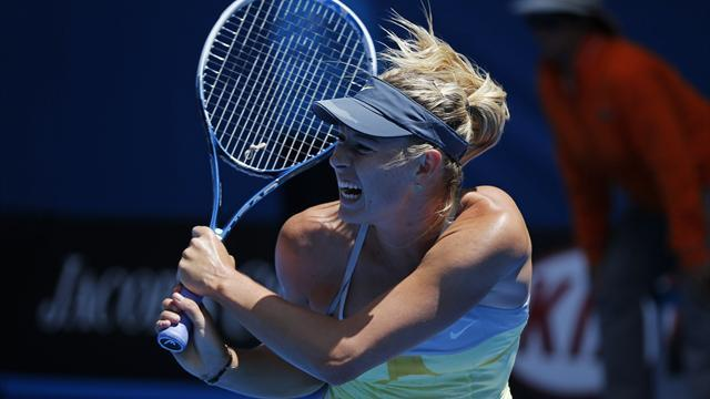 Australian Open - Sharapova through without dropping game
