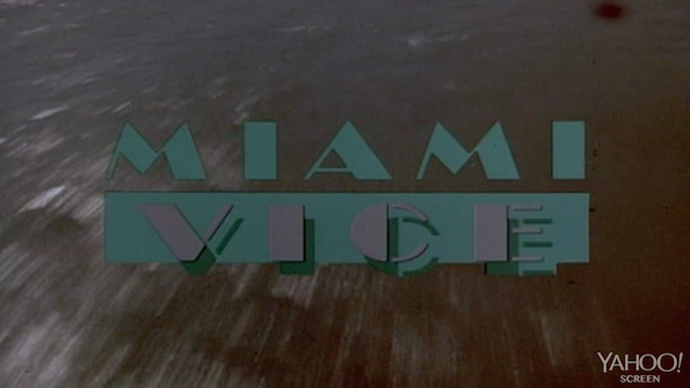 Guide To Being a 'Miami Vice' Cop