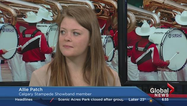 Calgary Stampede Showband Auditions