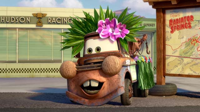 'The Radiator Springs 500 1/2' Clip: Clip: Left Is Right