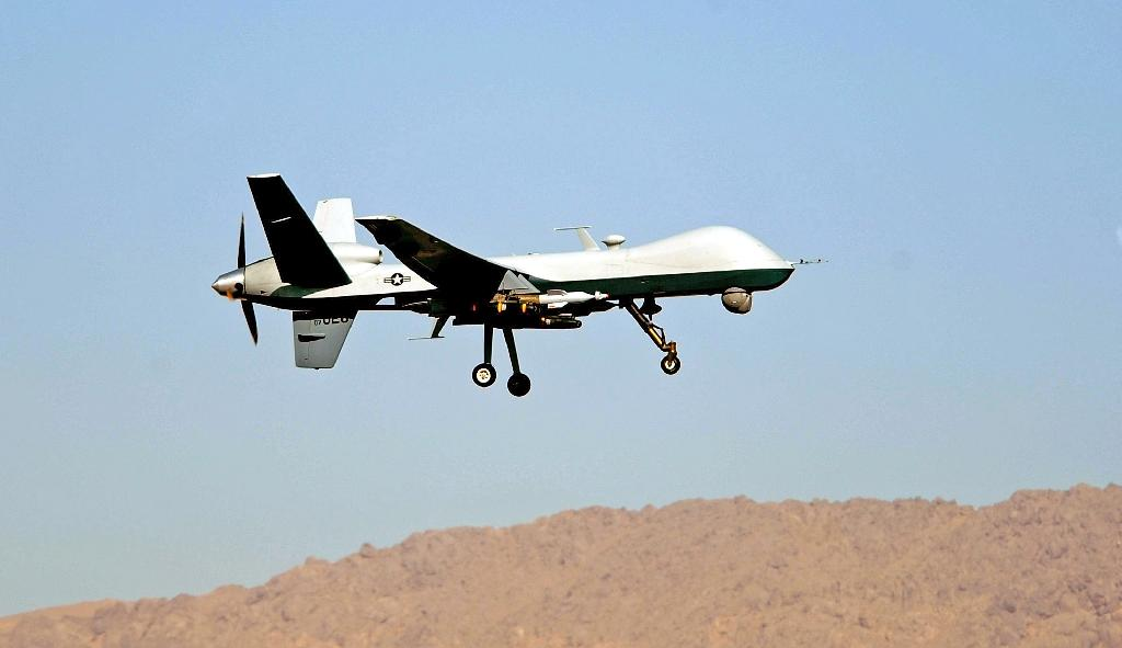 US drone 'killed two Iranian troops in Iraq'