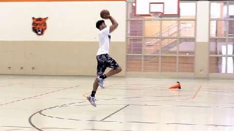 Michael Carter-Williams Performs Single-Leg Jump Shots to Improve Balance