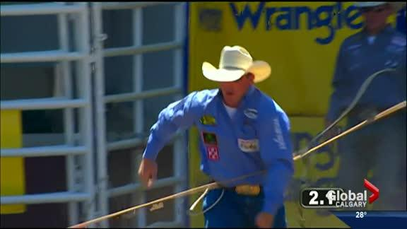 Calgary Stampede Rodeo Results Day 1
