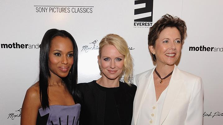 Mother and Child NY premiere 2010 Kerry Washington Naomi Watts Annette Bening