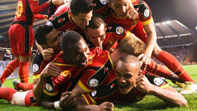 World Cup - Belgium add Sweden and Tunisia to Brazil preparations